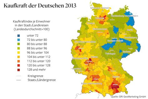 Distribution of Wealth in Germany