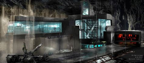Step Into the Batcave With This Batman V Superman Concept Art