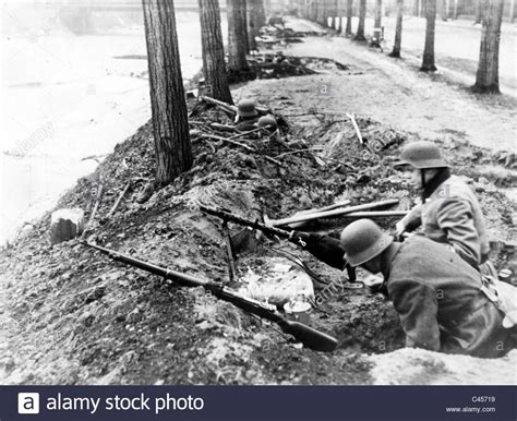 Silesian people's assault on the Oder Front, 1945 Stock
