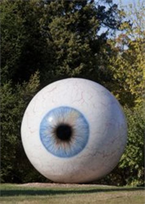 Stop Looking at Me! Downtown Dallas Acquires Giant Eyeball