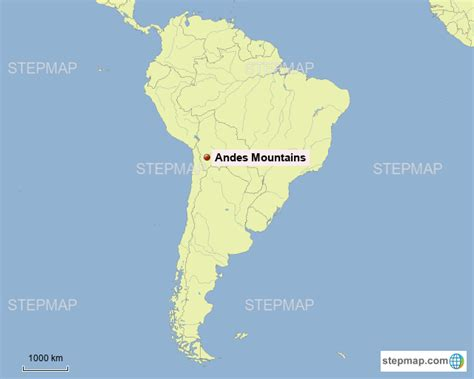 34 Map Of The Andes Mountain - Maps Database Source