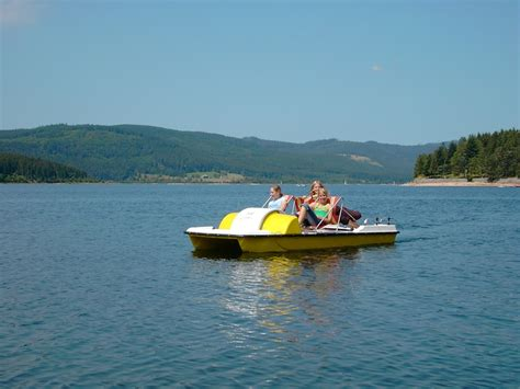 Free photo: Schluchsee, Pedal Boat, Summer - Free Image on