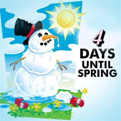 4 Days Until Spring Pictures, Photos, and Images for