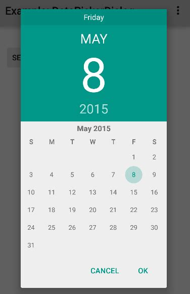 How to use DatePickerDialog in Android