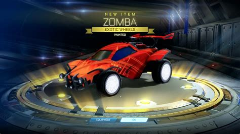 Rocket League - Painted Zomba in a Champions Crate 4 - YouTube