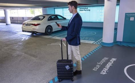 Stuttgart Airport To Feature World's First Automated Valet