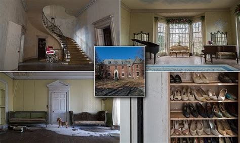 Mysteriously Abandoned In 1976, This Creepy Mansion Just