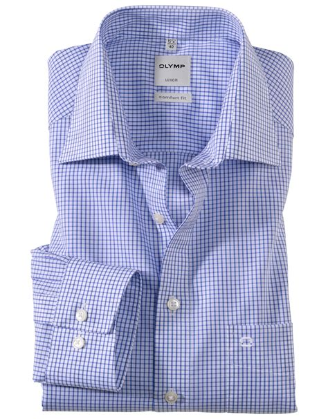 OLYMP Luxor Comfort Fit Neat Check [K 0274 64] - £42