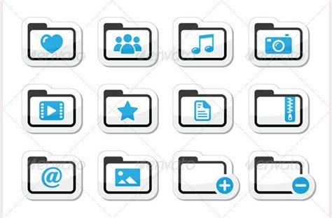 Best Music Player Folder Icon Sets for Download   Free
