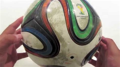 How to clean a 2014 Brazuca soccer ball - YouTube