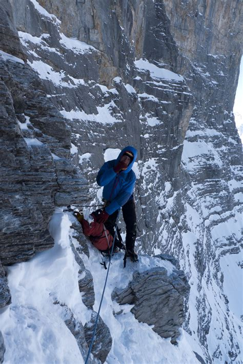 UKC Articles - North Face of the Eiger - 1938 Route