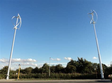 Seven Vertical Axis Wind Turbines Added To London's 2012