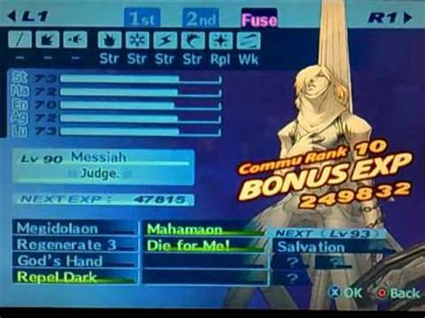 Persona 3 FES - Create Messiah with Repel Dark - YouTube