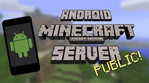 PUBLIC MCPE SERVER USING ANDROID   Minecraft PE Server and