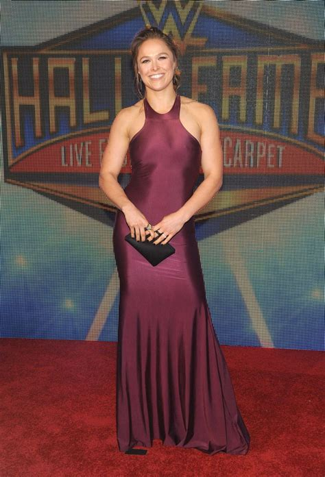 Ronda Rousey: WWEs 2018 Hall Of Fame Induction Ceremony