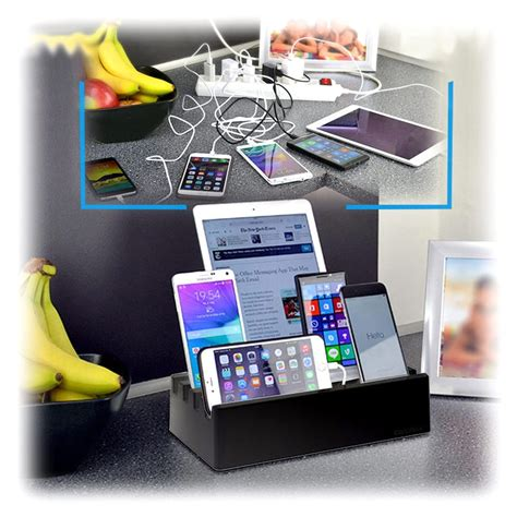 Charge Pit 6-port Universal Charging Station