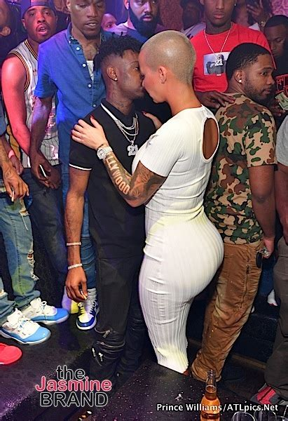 Amber Rose & Boyfriend 21 Savage Party in ATL [Spotted