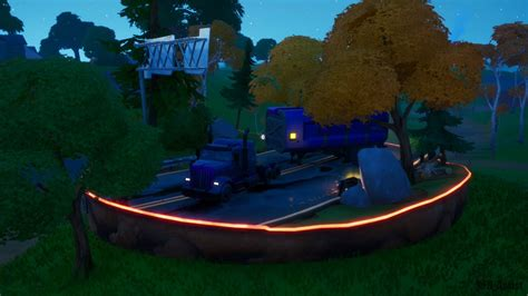 Fortnite: Where to find Trask Industries Transport Truck