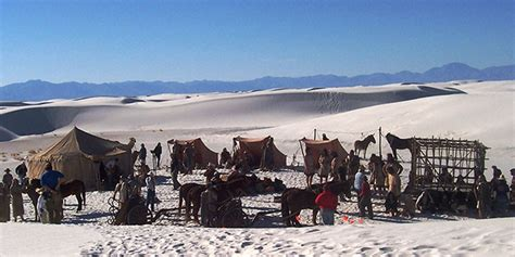 Commercial Filming - White Sands National Monument (U