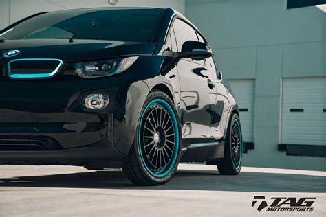 BMW i3 Looks Intriguing With HRE Wheels | Carscoops